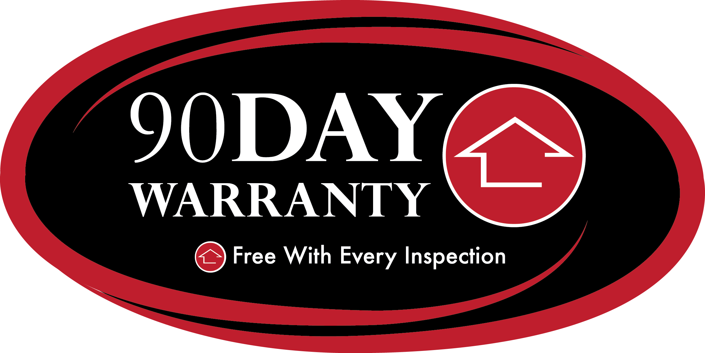 home inspector provides 90 day warranty