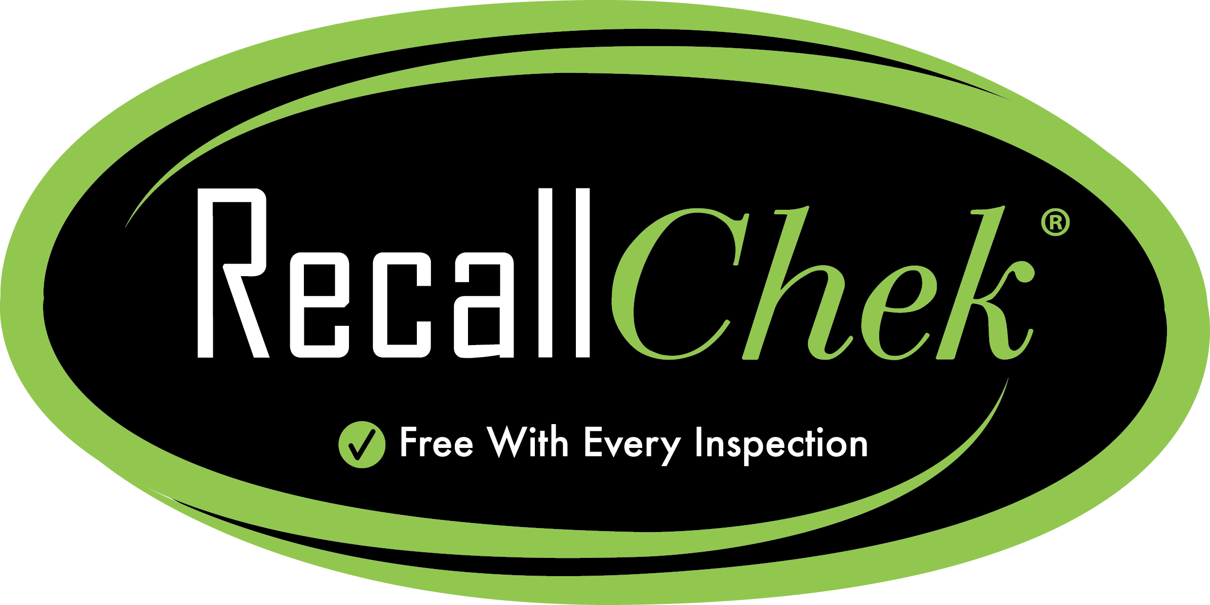RecallChek with each home inspection.