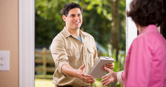 Seller at home inspection, Greensboro home inspector, Raleigh home inspections